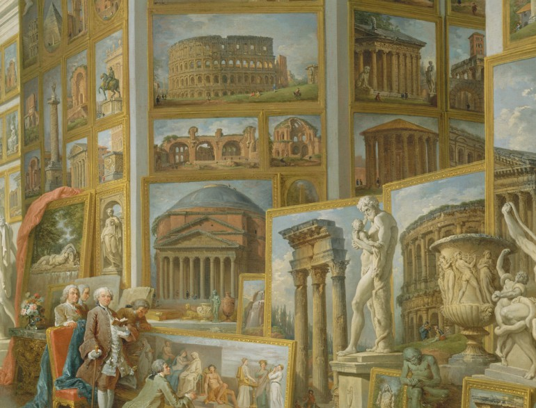Working Title/Artist: Ancient RomeDepartment: European PaintingsCulture/Period/Location: HB/TOA Date Code: 09Working Date: 1757