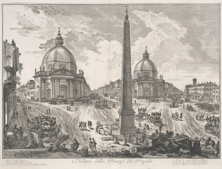 Working Title/Artist: Piazza del Popolo