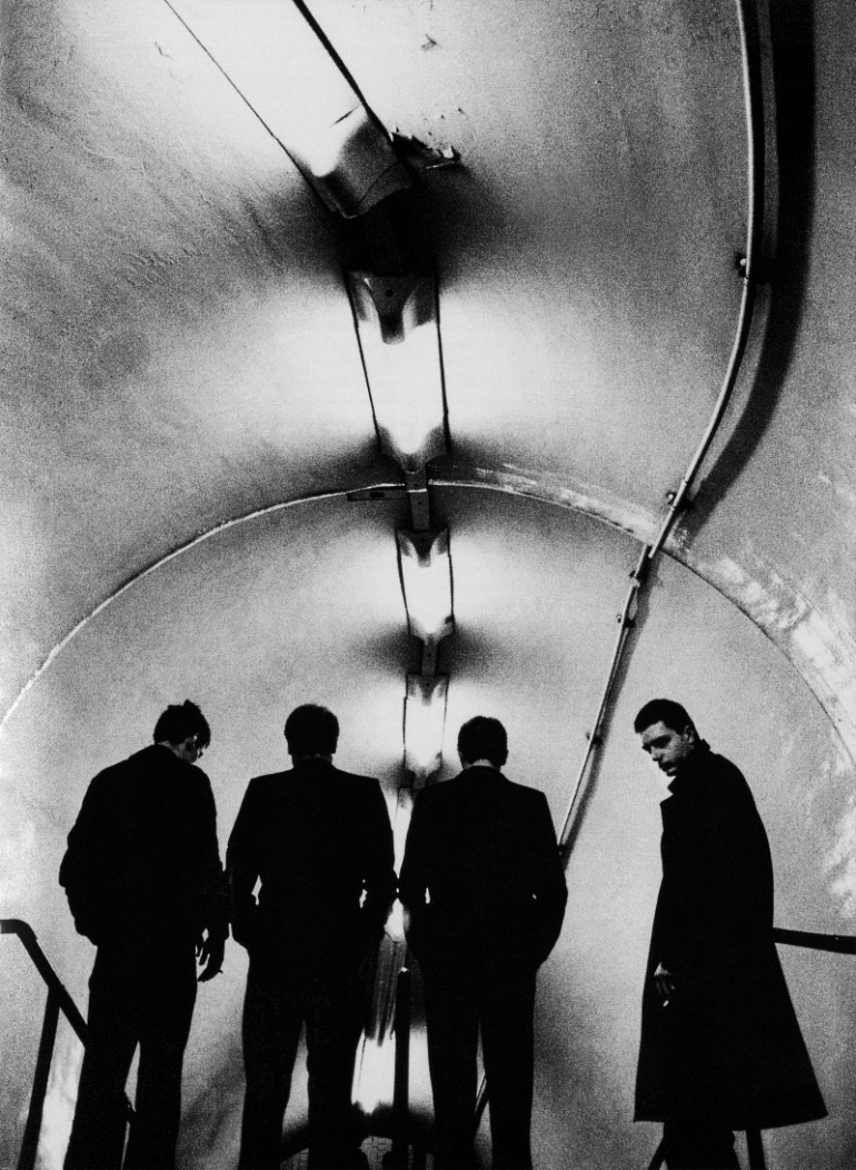Joy Division at the lancaster subway station